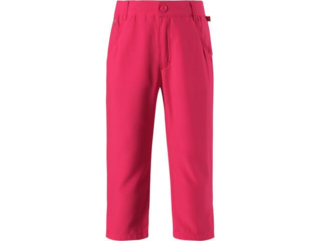 Reima Havluft Spodnie 3/4 Dziewczynki, candy pink